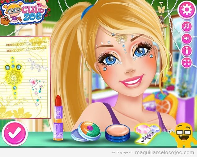 Juego de maquillar Barbie Makeup Magazine