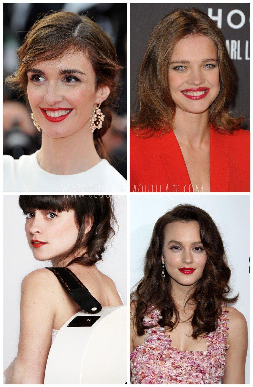 Las mujeres castañas tienen varias opciones a la hora de elegir un labial rojo